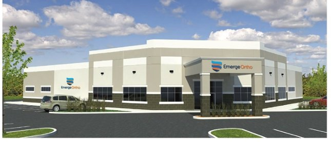 New EmergeOrtho Building Underway