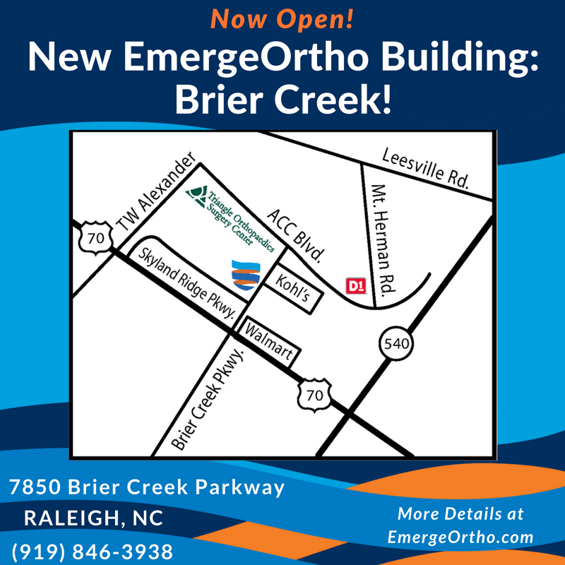 New Building: EmergeOrtho Office Opens in Brier Creek!