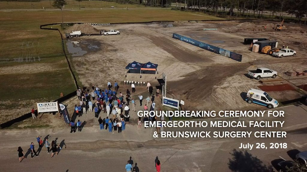 Construction Underway on Brunswick County's First Ambulatory Surgery Center