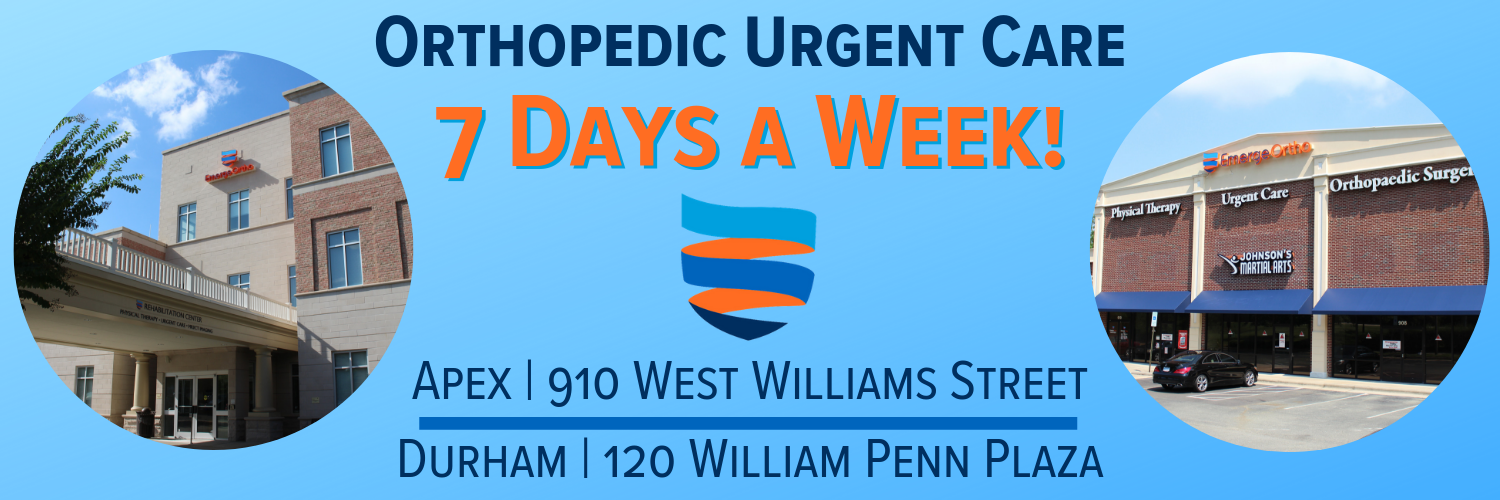 Orthopedic Urgent Care | Open 7 Days a Week!
