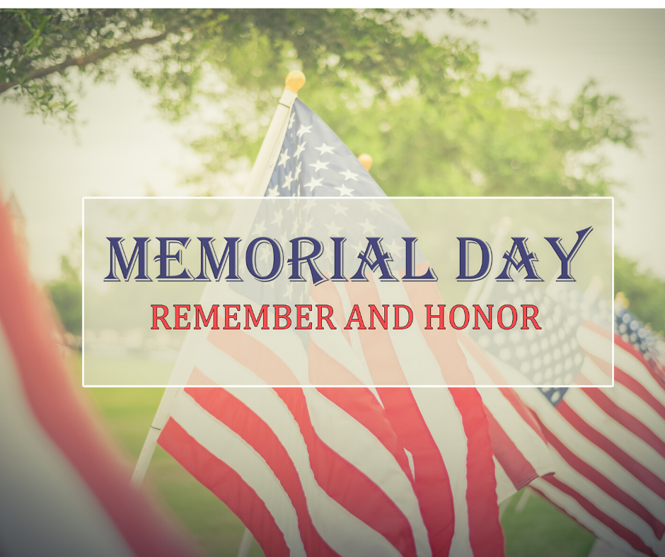Wilmington Region Memorial Day Hours
